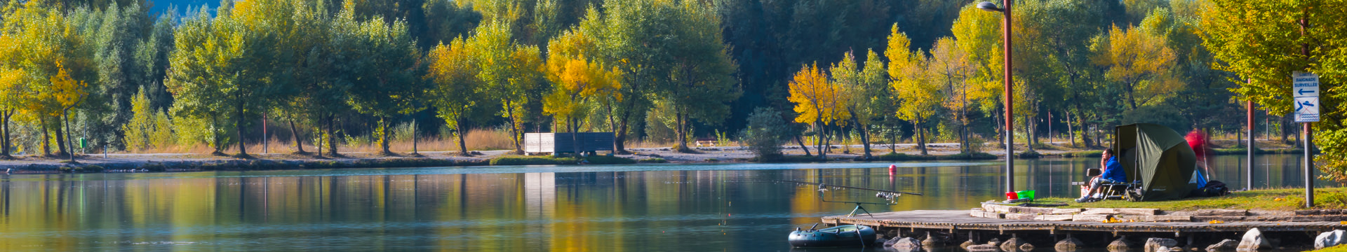 Les plus beaux spots de pêche de Serre-Ponçon