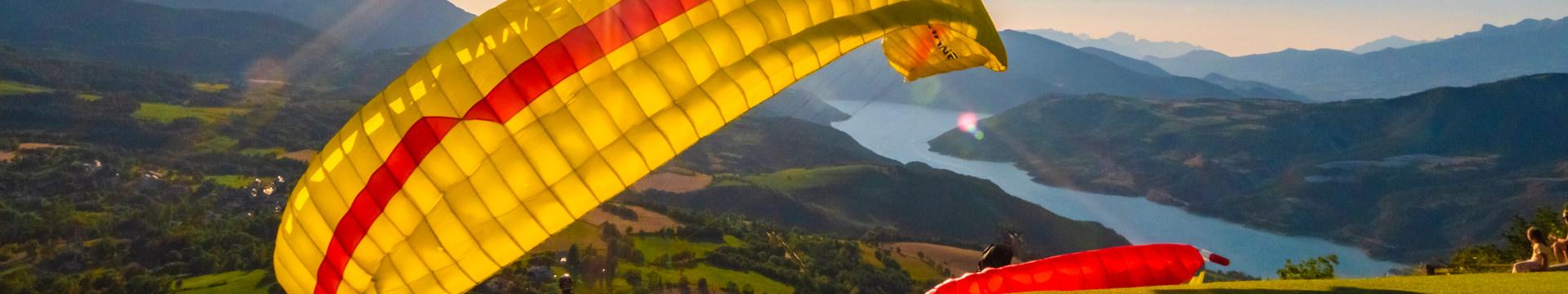 Les activités aériennes sur Serre-Ponçon