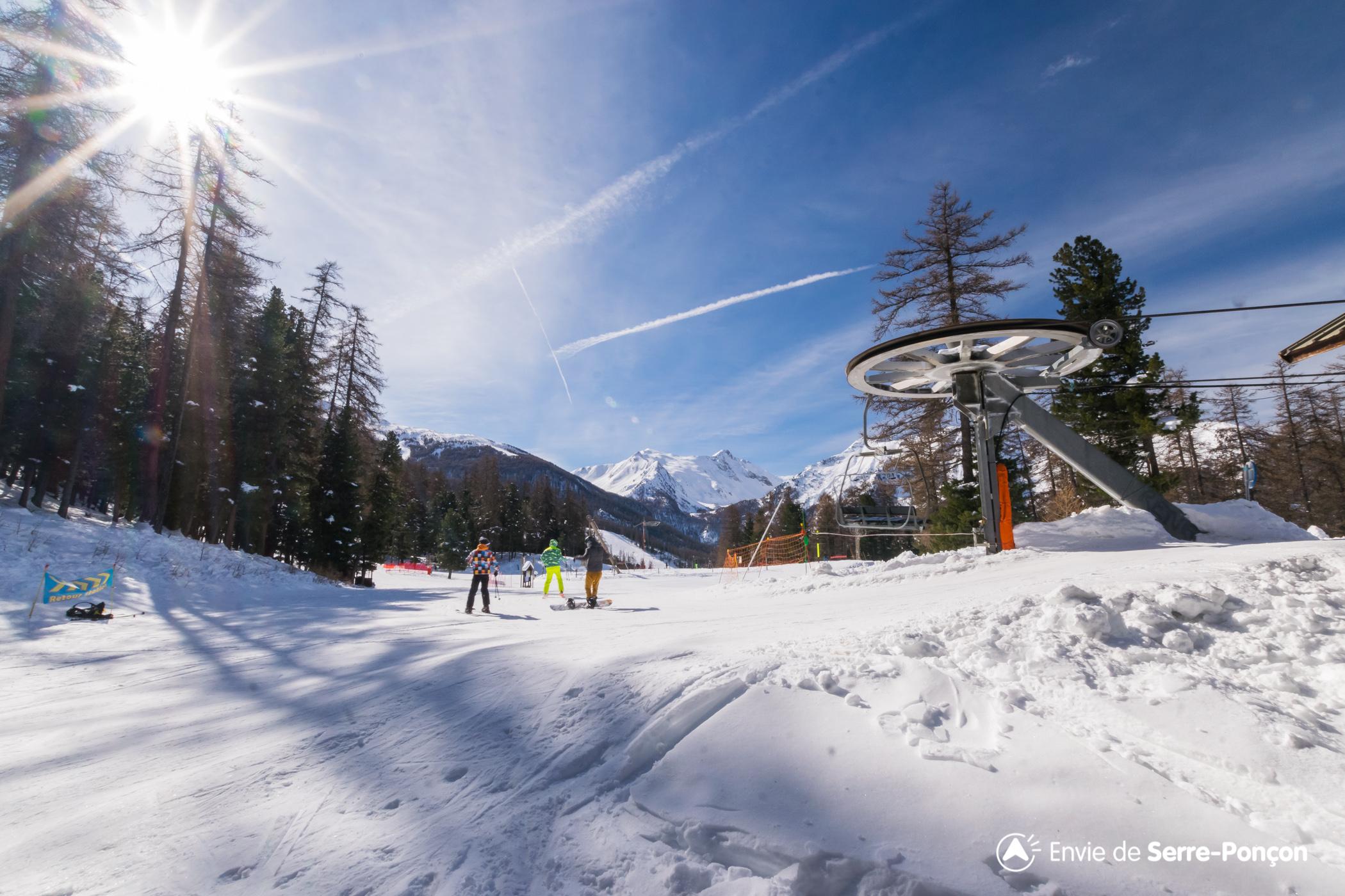 Station de ski les orres embrun hautes alpes alpes du - Office du tourisme alpes du grand serre ...