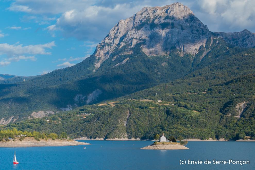 Lac Serre Poncon : Vacances en camping au lac de serre ponçon lucky sophie maman