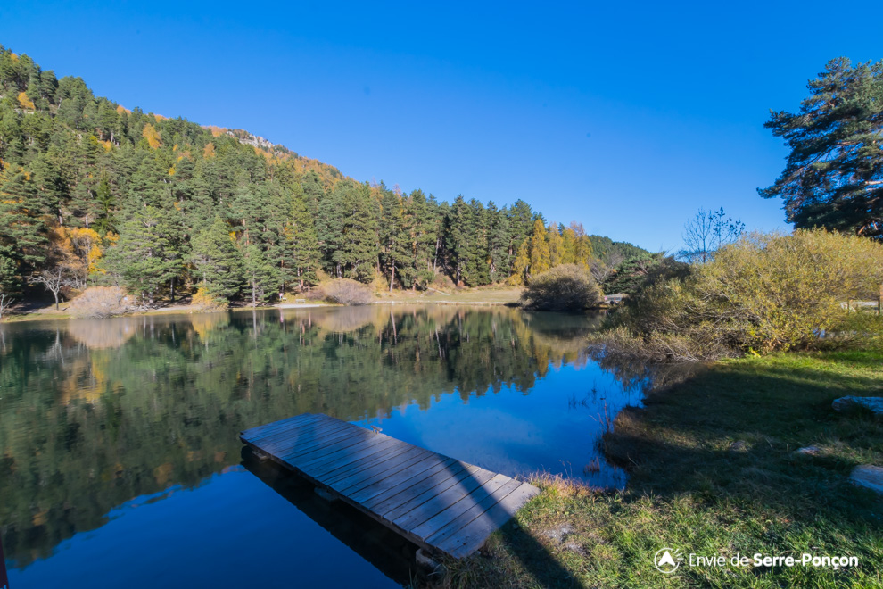 Lac Serre Poncon : Camping lac de serre ponçon l etoile des neiges provence