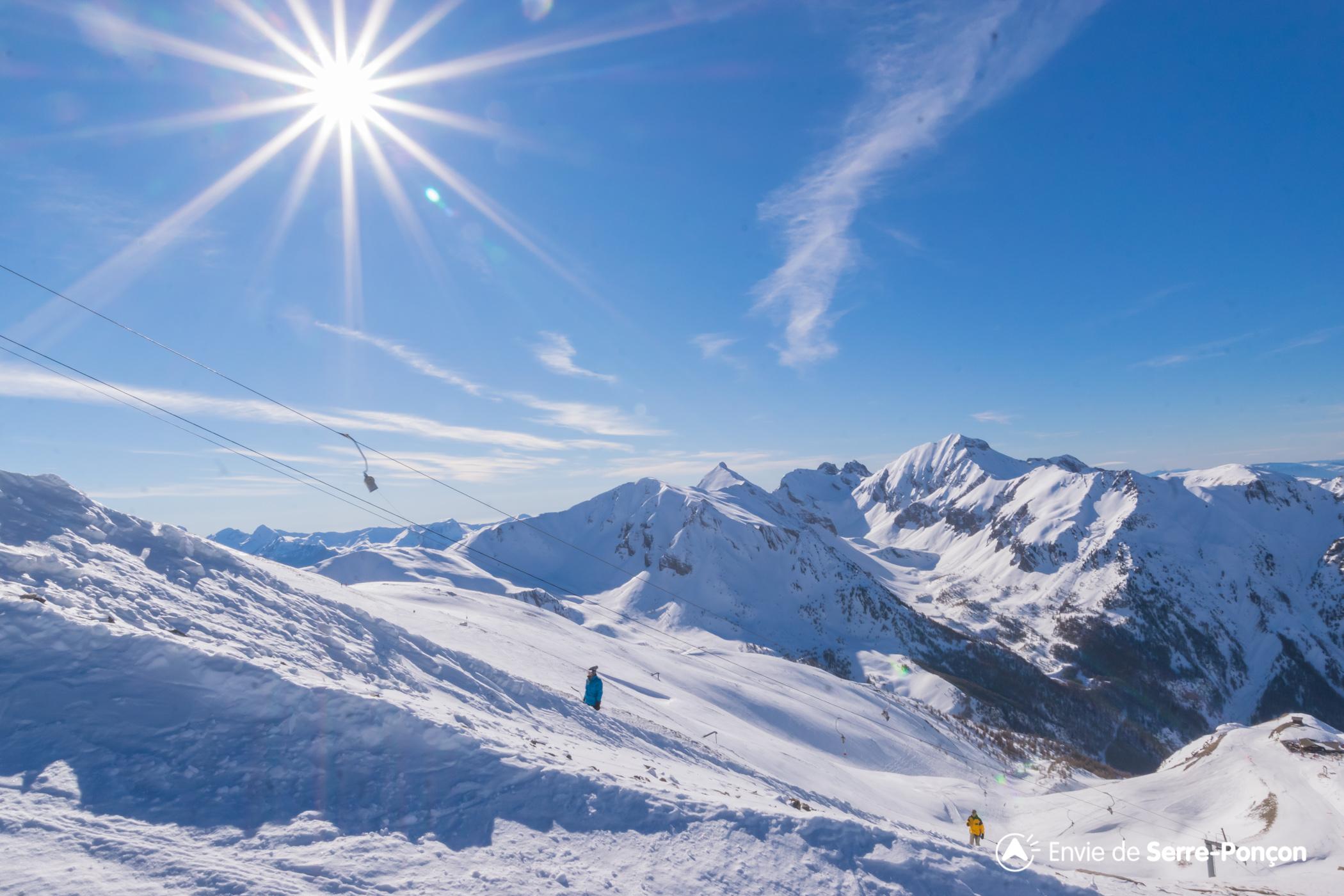 station de ski les orres embrun hautes alpes alpes du sud envie de serre pon on. Black Bedroom Furniture Sets. Home Design Ideas
