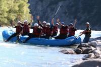 De Bleu à Blanc Rafting - Raft sur Durance à EMBRUN