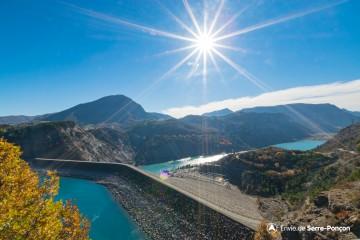 Barrage de Serre-Ponçon, le poumon des Alpes du Sud