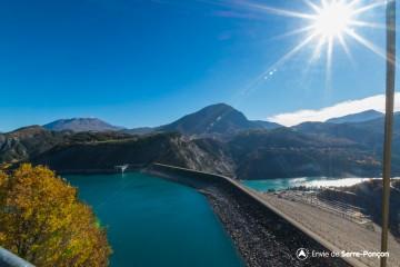 Visite Barrage de Serre-Ponçon / Journées de l'Industrie Electrique 2018