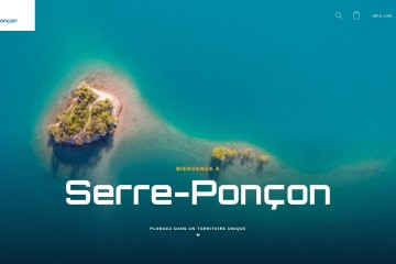 Un nouveau site internet pour l'Office de Tourisme de Serre-Ponçon