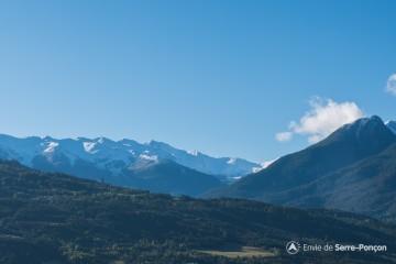 Première chutes de neige sur Serre-Ponçon