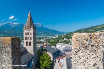 Visite de la Tour Brune d'Embrun 2018