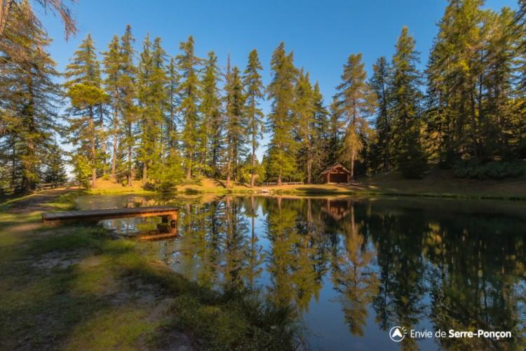 Lac et Chapelle du Lauzerot