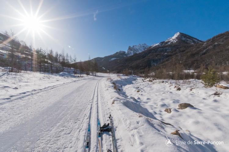 Domaine de ski nordique de Réallon Les Gourniers