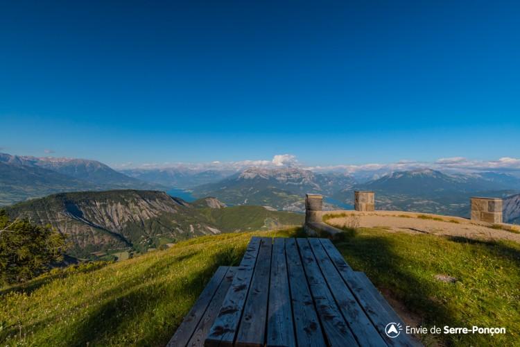 Panoramique du Mont Colombis