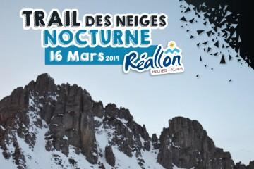Trail des Neiges Nocturne Réallon 2019