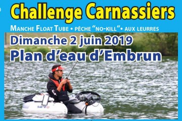 Challenge Carnassiers Embrun 2019 - Manche Float Tube