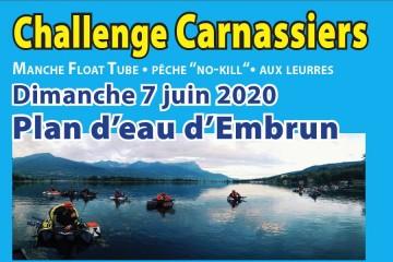 Challenge Carnassiers Embrun 2020 - Manche Float Tube