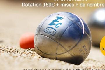 Challenge Pétanque des Commerçants Embrun 2020