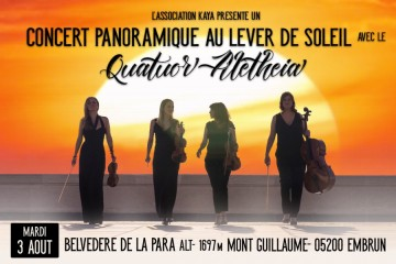 Concert Panoramique Sunrise Belvédère de La Para