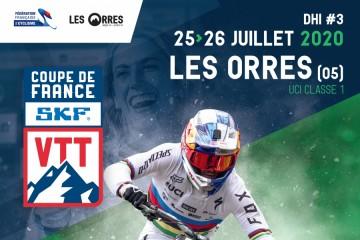 Coupe de France VTT DH 2020 Les Orres