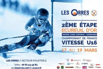 [Annulé] Ecureuils d'Or & Championnat de France U16 2020 - Les Orres