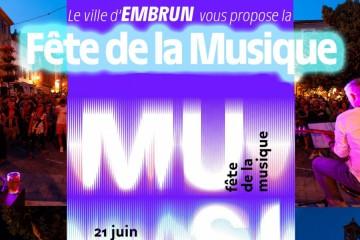 Fête de la Musique 2019 - Embrun