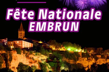 Fête Nationale 2021 / Feu d'artifice Embrun