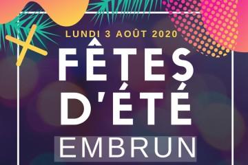 Fêtes d'Eté d'Embrun 2020
