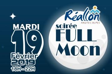 Soirée Full Moon Février 2019