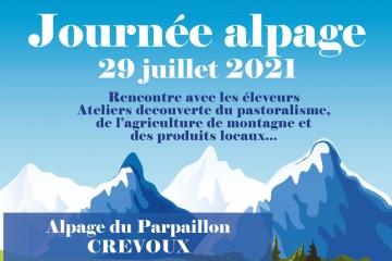 Journée en Alpage Crevoux 2021