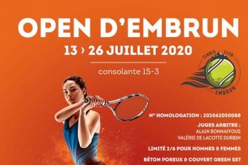 Open Tennis d'Embrun 2020