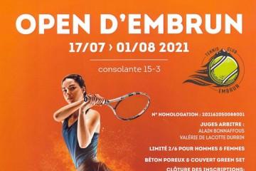 Open Tennis d'Embrun 2021