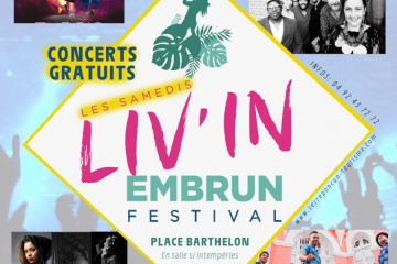 Samedis Liv'in Embrun 2019