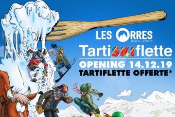TartiSKIflette Les Orres 2019 : lancement de saison