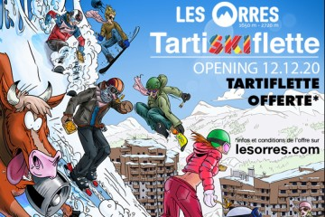 TartiSKIflette Les Orres 2020