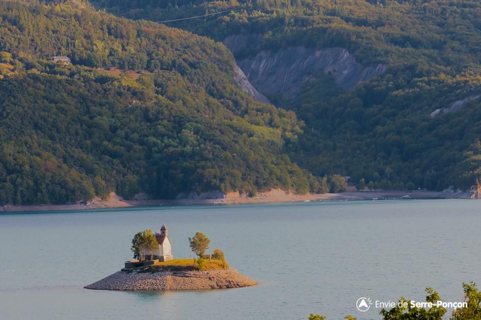 Lac Serre Poncon : Les sites remarquables du lac de serre ponçon alpes du sud envie